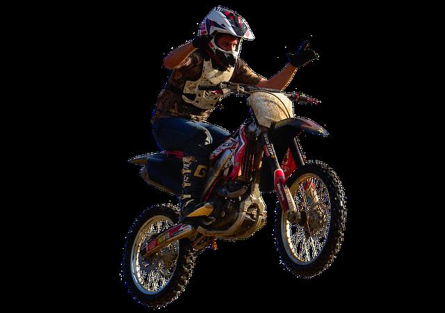motocrossový kousek