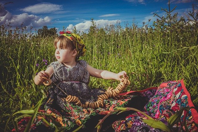 ruská holčička