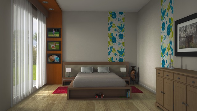 postel s prostorem