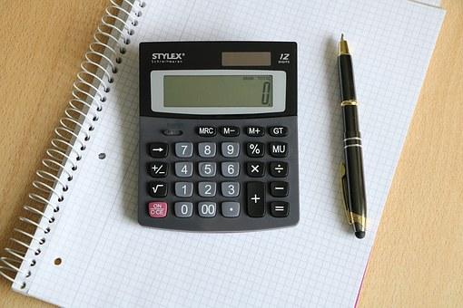kalkulačka pero