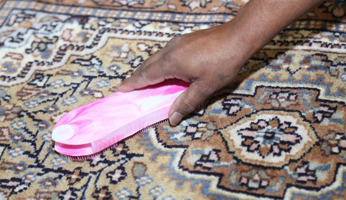 koberec a čištění