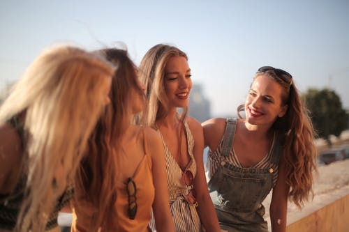 léto ženy parta